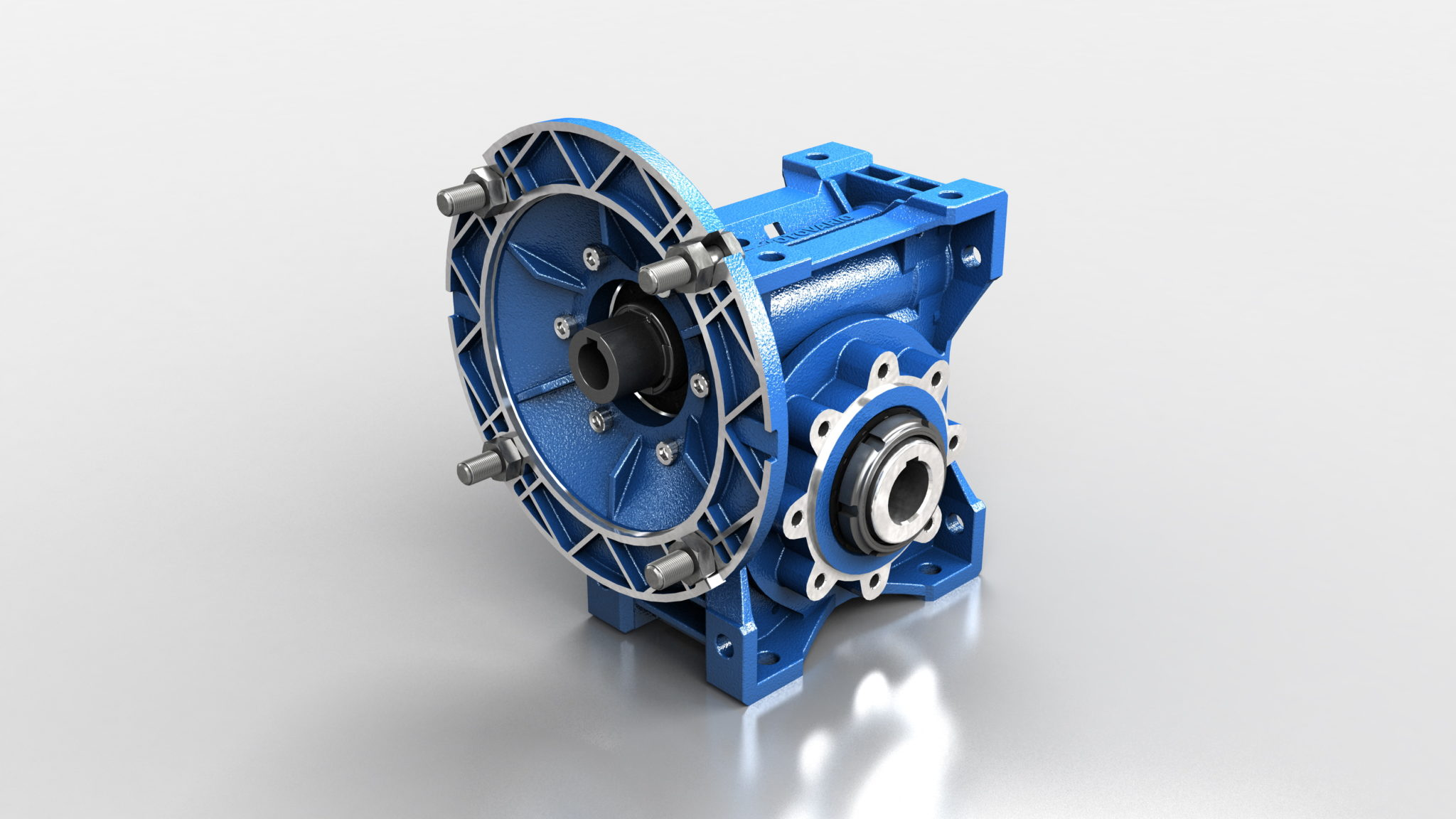 WORM GEAR REDUCERS, COMBINED AND WITH PRE-STAGE REDUCTION UNIT